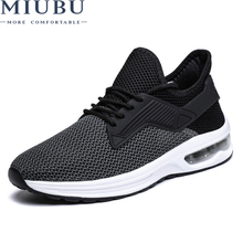 цена на MIUBU Brand Shoes Men Tenis Masculino Adulto Sneakers Casual Breathable Mesh Air Mesh Zapatos Hombre Chaussure Homme Sapato