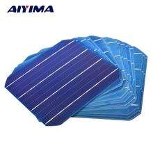 AIYIMA 20Pcs Monocrystalline Silicon Flexible Solar Panel Solar Cell DIY 156x156mm 4.7W 0.5V Solars Panel China Panneau Solaire