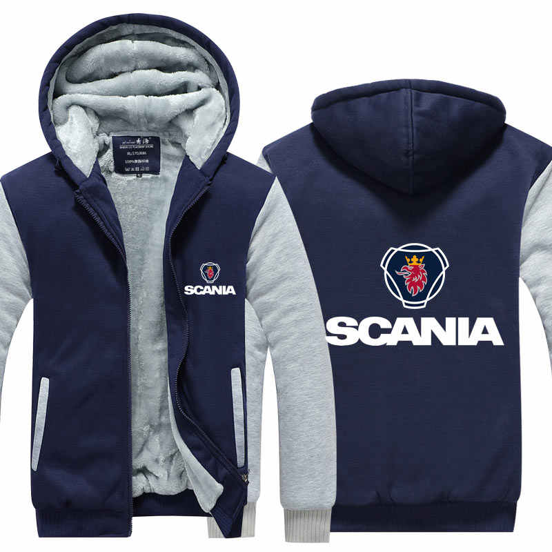 Hoodie Winter Zipper Thick Casual S Jacket Coat Sweatshirt 5xl Style Hooded Scania Thicken lJ3K1TFc