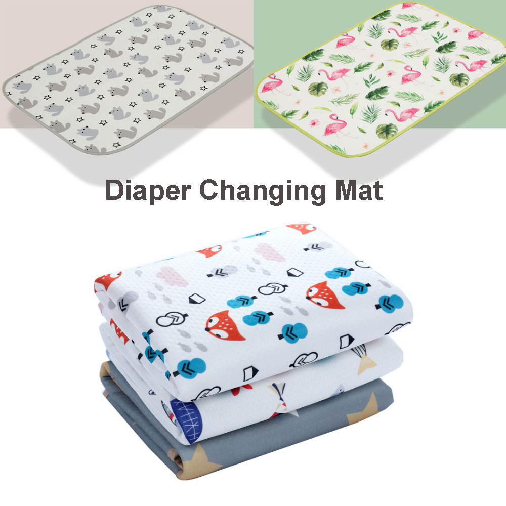 Newborn Baby Portable Foldable Washable Diaper Pad Baby Care Nappy Changing Mat Maternity Diaper Pad Infant Stroller Accessories