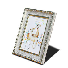 "Classic Photo Frame Painting Frame Cretive Home Art Decor Gifts Vintage Desktop Photo Frame For Pictures 6"" 8"" 10"" 12"" A4 Photos(China)"