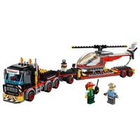 Heavy Cargo Transport  Compatible Legoe City Great Vehicles 60183 Building Blocks toys for Childrens Bricks Model