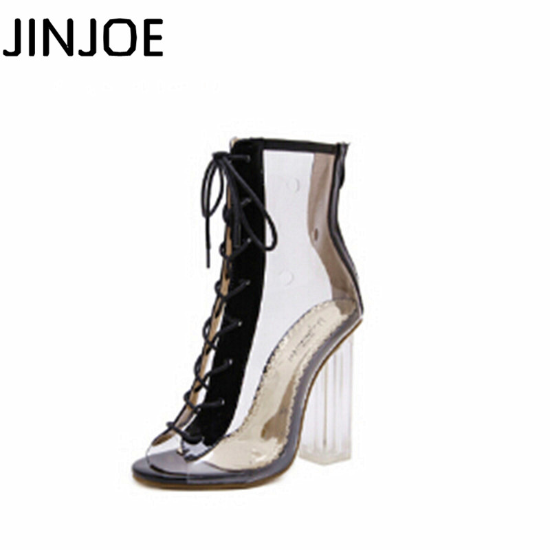 2017 NEW Crystal heel Open toe Sandals With crude Womens Shoes pump High-heeled Cool boots 34-40 code2017 NEW Crystal heel Open toe Sandals With crude Womens Shoes pump High-heeled Cool boots 34-40 code