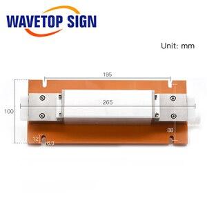 Image 2 - WaveTopSign Machine de soudage Laser lampe simple cavité en céramique utiliser lampe au xénon 8*125*270mm tige de cristal 7*145mm