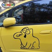 2 X מצחיק HotMeiNi אגדות מצוירות סיימון חושב על חיים מדבקה לרכב עבור מכוניות משאית מונית דקור ויניל מדבקות קיר 9 צבעים