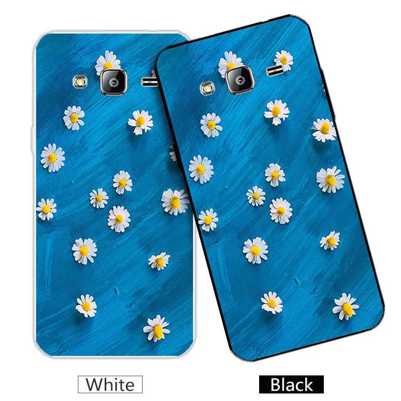TPU Fall Für Samsung Galaxy J2 Prime G532 SM-G532F Zurück schwarz Matt Abdeckung Fundas Für Samsung J2 Prime G532F Blüte Coque