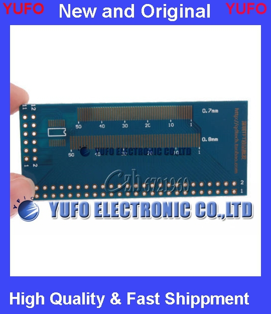 Free Shipping Multiple 0.5/0.7/0.8/1.0mm Pitch TFT LCM LCD Adapter Board FPC Board SMD To DIP
