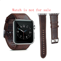 Watch accessories new Apple Watch strap iwatch strap crazy horse retro wind wristband men and women casual apple leather strap