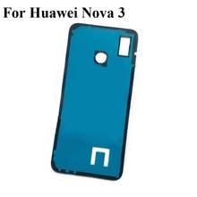 2PCS Adhesive Tape For Huawei Nova 3 Nova3 3M Glue Back Battery cover Rear Door Sticker