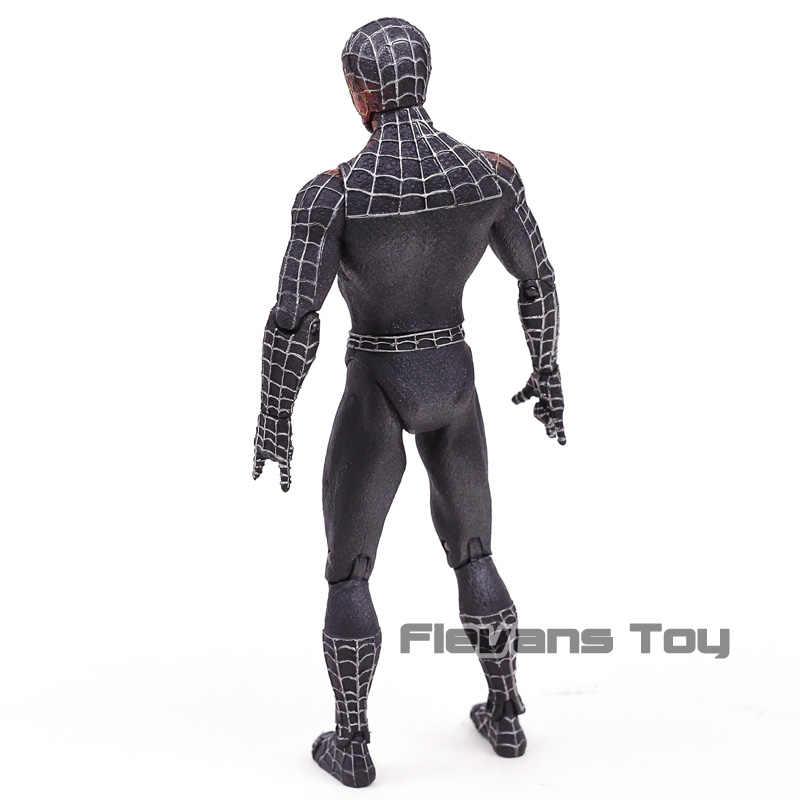 """Marvel Diamond выберите черный костюм Человек-паук 7 """"свободная фигурка игрушка"""