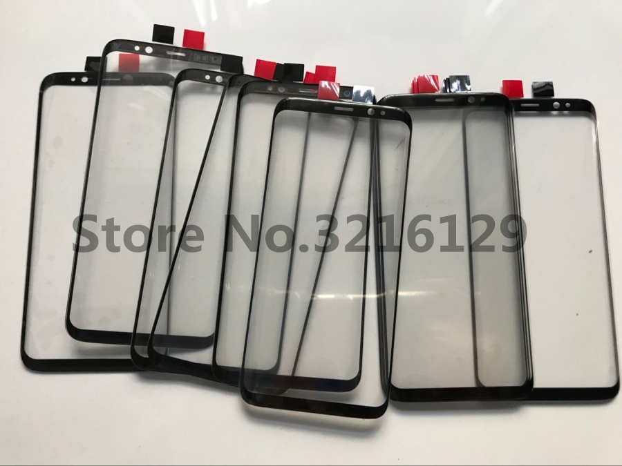 10pcs/lot Original <font><b>Replacement</b></font> LCD Front Touch Screen <font><b>Glass</b></font> Outer Lens For <font><b>Samsung</b></font> <font><b>Galaxy</b></font> s8 edge plus G950 G955 High Quality image