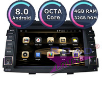 Roadlover Android 8.0 Car PC DVD Player Audio For KIA Sorento 2010 2011 2012 Stereo GPS Navigation Automagnitol Double Din Radio