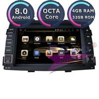 Roadlover Android 8.0 Car PC DVD Player Audio For KIA Sorento 2010 2011 2012 Stereo GPS Navigation Automagnitol Double Din Radio