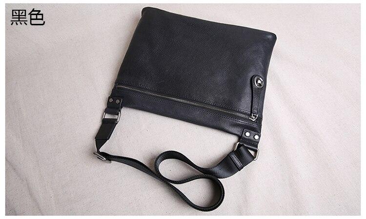 Aetoo 2018 nova bolsa de couro masculina