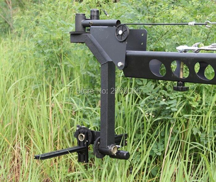 12 m 3 axes motorisé tête inclinable DV contrôleur professionnel Jimmy caméra grue potence pour filmer