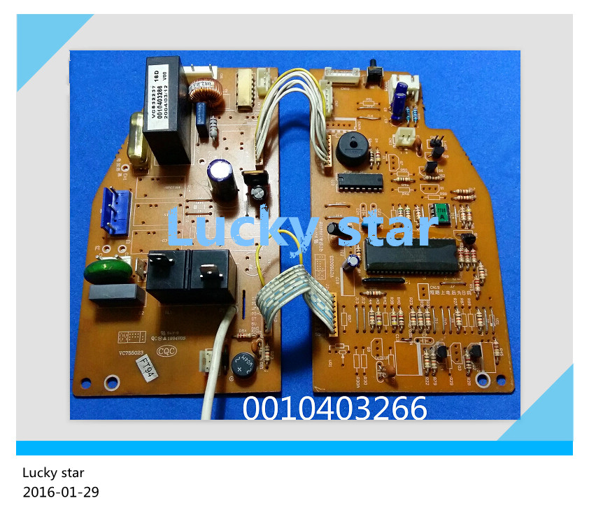 95% new for Haier Air conditioning computer board circuit board 0010403266 good working 95% new good working for haier air conditioning accessories 0010403444 computer board power supply board motherboard