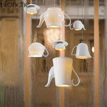 Modern Nordic Ceramic Led Pendant Lights Tea Cup Teapot Hanging Lamp Luminaire Dining Room Kitchen Lighting Fixtures Home Decor цена 2017