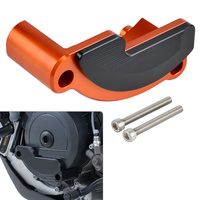 Left Side Engine Case Slider Protector Cover Guard For KTM 1050 1090 1190 1290 Adventure Super Duke R GT SuperDuke RC8 RC8R