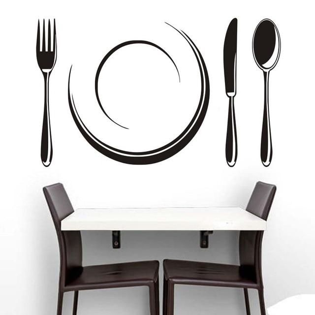 Kreative Platte Und Besteck Restaurant Shop Küche Dekoration ...