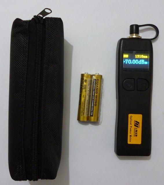 Envío Libre Mini YJ-320C Fibra Medidor de Potencia Óptica-50 ~ + $ number dbm