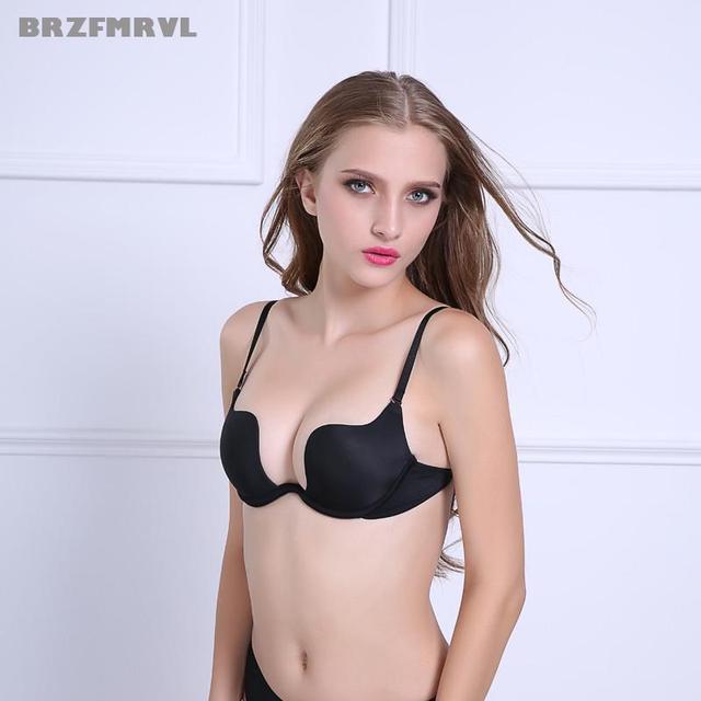 9911145ff5a59c US $4.56 47% OFF Frühling Sexy Bh Frauen unterstützung brust Büste Bh  öffnen brust dame Push Up bh kleine brust mode frauen büstenhalter frauen  ...