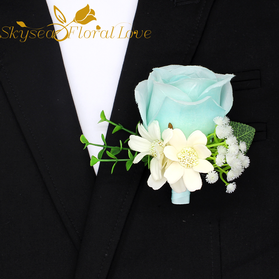 Diy handmade corsage artificial flower heads silk flower boutonniere diy handmade corsage artificial flower heads silk flower boutonniere wedding decoration brooch flowers in artificial dried flowers from home garden on mightylinksfo