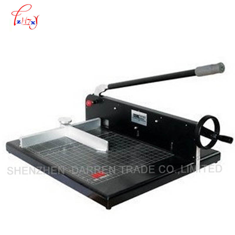 Heavy Duty All Metal Ream Guillotine A4 Size Stack Paper Cutter Paper Cutting Machine trimmer cutter