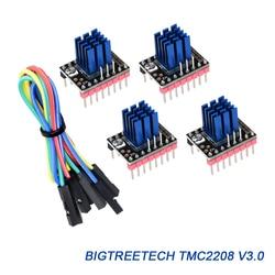 BIGTREETECH TMC2208 V3.0 StepStick Stepper Motor Driver Controlador UART TMC2208 Ultra-silencioso para SKR V1.3 Gen L V1.0 Painel repRap