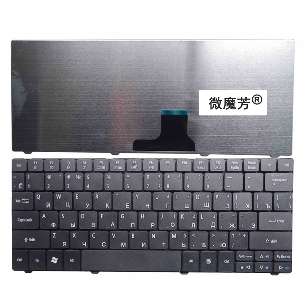 RU New For Acer For Aspire One ZA3 ZA5 ZA8 MS2298 MS2297 MS2296 751 751H ZA3 752 753 722 721 1410 1810T Laptop Keyboard Russian