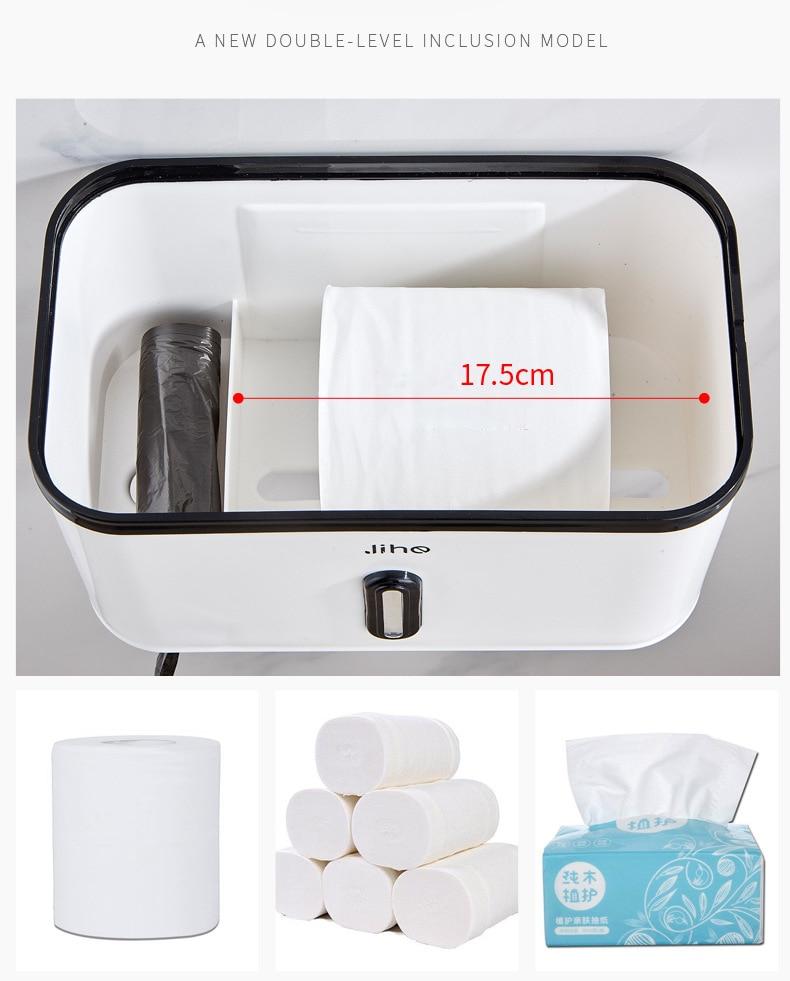 toalhas de papel conveniente durável acessórios do banheiro