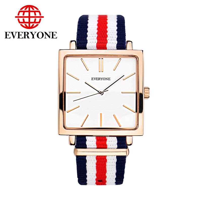 Luxury Brand Men Rose Gold Watches Fashion Casual Square Sport Watch Quartz Male Dress Wristwatch relogio masculino brand oulm 9316b japan movt big face watches men triple time rose gold luxury analog digital casual watch relogio male original