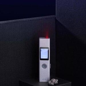 Image 5 - NEUE AUF LAGER Youpin Duka 40m Laser range finder LS P USB lade Palette Finder Hohe Präzision Messung entfernungsmesser