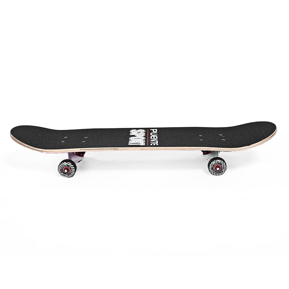 PUENTE 602 Skate ABEC-9 à Quatre roues Double Snubby D'érable de Planche À Roulettes pour le Divertissement - 3