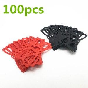 Красные/черные/Высокопрочные силиконовые резиновые повязки для навигатора, фиксации телефона, для крепления на руль велосипеда