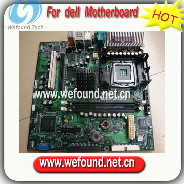ФОТО 100% working For DELL GX280 CG808 H8367 H8164 D7726 Y6281 XF950 Desktop Motherboard full test