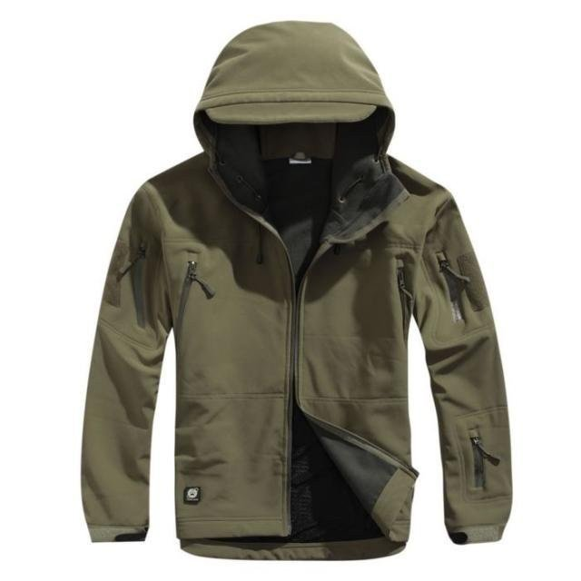 Hoody Softshell Jacket TAD V 4.0 High Quality Men Outdoor Hunting Camping Waterproof Windproof Polyester Coats Jacket ветровка dickies softshell jacket navy