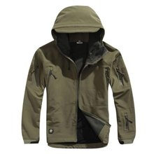 TAD V 4.0 High Quality Men Outdoor Hunting Camping Waterproof Windproof Polyester Coats Jacket Hoody Softshell Jacket