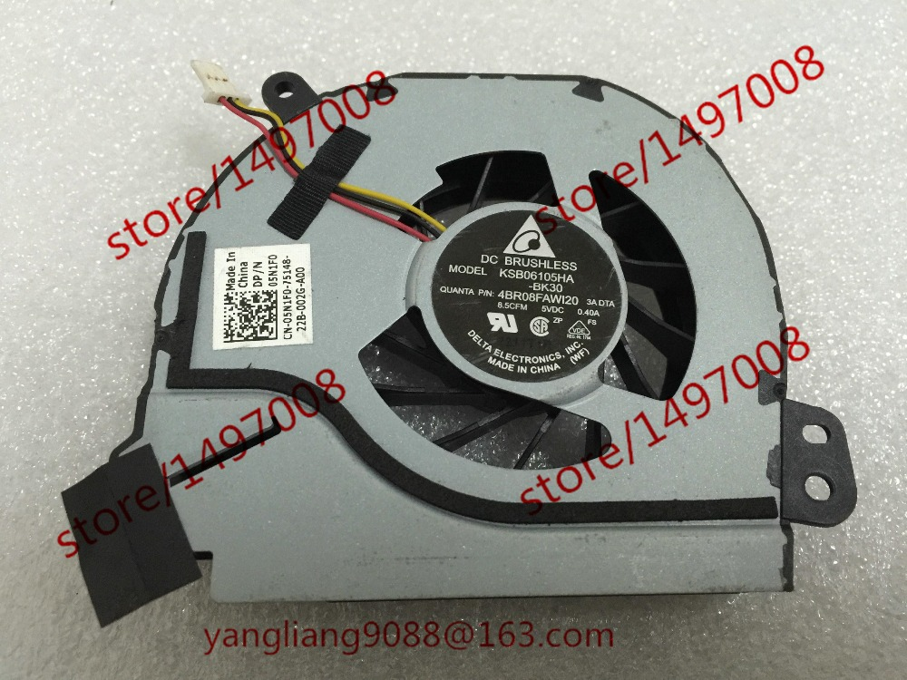 Free Shipping KSB06105HA, -BK30 DC 5V 0.40A 3-wire 3-Pin connector 40mm Server Laptop Cooling fan бра v1453 1a 1х60вт е14 металл стекло vitaluce