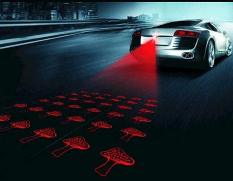 Светодиодный лазер на автомобиль противотуманные свет анти столкновения хвост лампа Предупреждение лампы для byd F3 F0 S6 F3r g3 S3 S7 E6 E5 G5 G6 G3 I3 стайлинга автомобилей