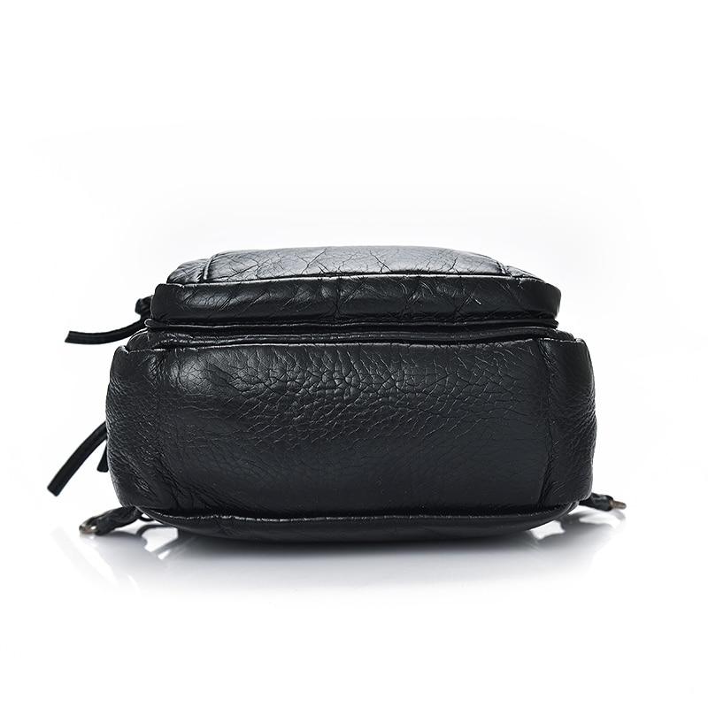 qibolu mini pequena mochila mulheres For : Casual, Travel, School Bag