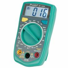MT-1233C-C 3 1/2 Digital Multimeter DC AC Voltage Current Resistance Tester Ammeter Multitester Temperature Tester