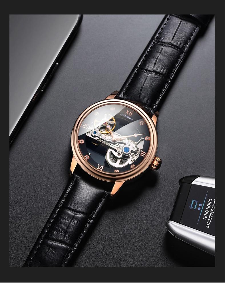 HTB14NUUc3mH3KVjSZKzq6z2OXXaB GUANQIN 2019 men watches top brand luxury Automatic Luminous clock men Tourbillon waterproof gold Mechanical relogio masculino