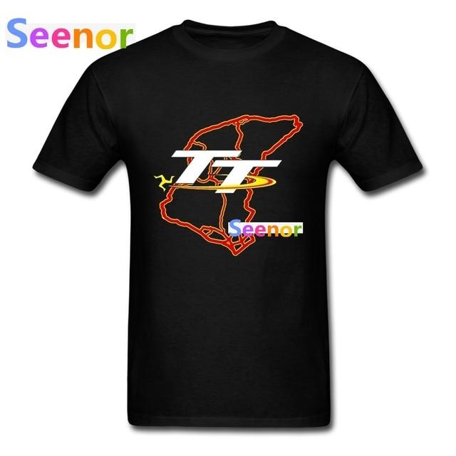 76935cda911d01 T Shirty Mężczyźni Mountain Oczywiście Mapa Isle of Man TT koszulki Fajne  New Arrival Luksusowe Mężczyźni