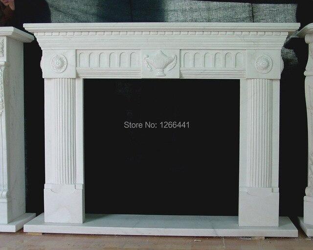 Stein Möbel Sanfte Englisch Stil Marmor Gas Kamin Kaminsims Nach Maß