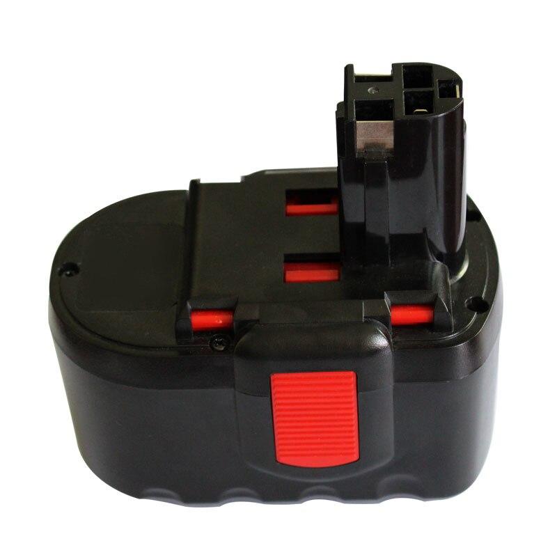 2x BATTERIE d/'outil 24V 3000mAh noir rouge pour BOSCH GSB 24VE-2 GSR 24VE-2