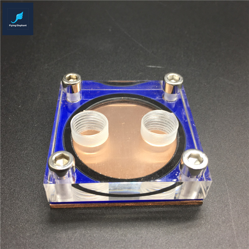 Flying-Elephant DIY CPU Water Block Support All-Platform For Coumputer Water Cooling DIY Player