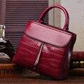 Женщины Кожаные сумки Европейских и Американских моды натуральная кожа камень зерна мешок плеча Mobile Messenger сумки