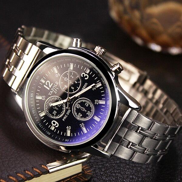 c60edd5706d Nova listagem yazole homens relógio de marca de luxo relógios relógio de  quartzo moda cintos de couro relógio de pulso esportes baratos relogio  masculino em ...