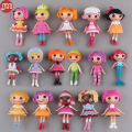New 8pcs Lalaloopsy Baby Dolls Action Figure Toys Girls Bonecas Birthday Gift Cake Toppers Random  Brinquedos Juguete