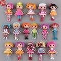 Nova 8 pcs lalaloopsy dolls action figure toys meninas bonecas de presente de aniversário do bebê bolo toppers aleatória brinquedos juguete